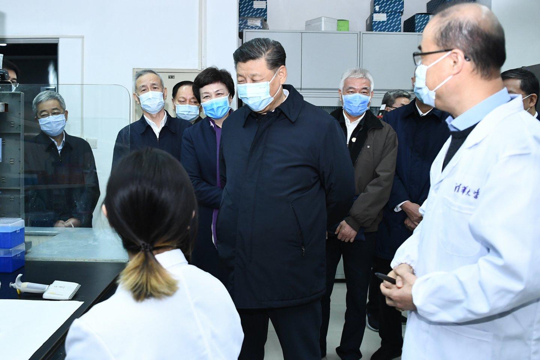 Koronavirusas kelia siaubą visam pasauliui.<br>ZUMA press/Scanpix nuotr.