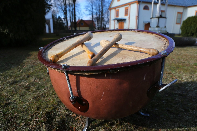 Nematerialaus kultūros paveldo vertybių sąvade - Velykų būgno mušimo tradicija.<br>Organizatorių nuotr.