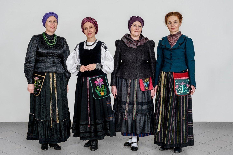 Nematerialaus kultūros paveldo vertybių sąvade - Mažosios Lietuvos delmonai.<br>Organizatorių nuotr.