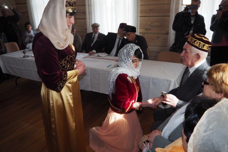 Nematerialaus kultūros paveldo vertybių sąvade - Lietuvos karaimų vestuvių tradicija.<br>Organizatorių nuotr.