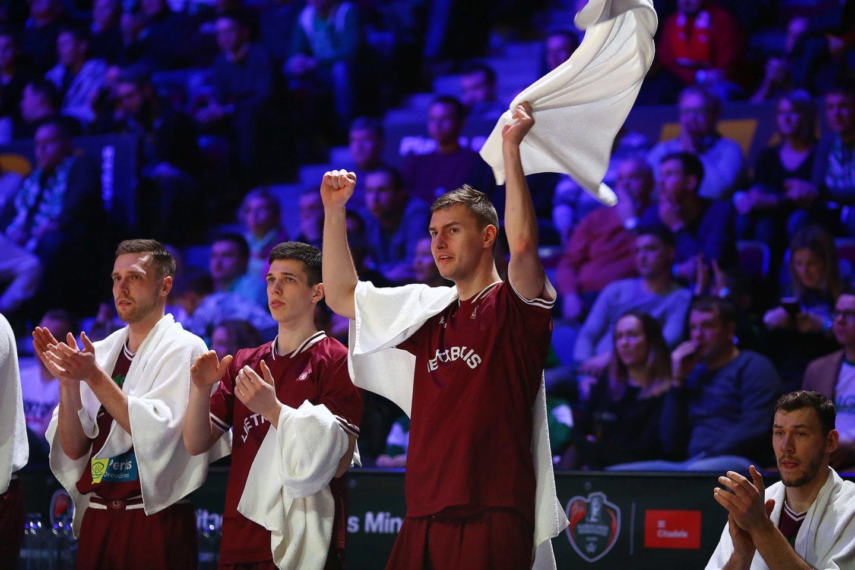 """Panevėžio """"Lietkabelio"""" komanda trečiadienį pradės FIBA Čempionų lygos aštuntfinalio seriją.<br>Gintaro Šiupario nuotr."""