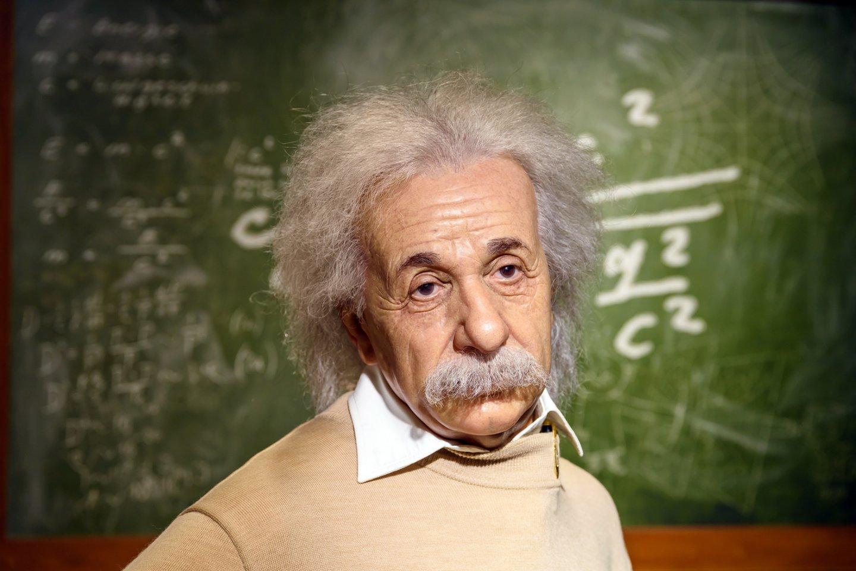 Alberto Einsteino teorijos tapo įkvėpimu R.Mallettui.<br>123rf nuotr.