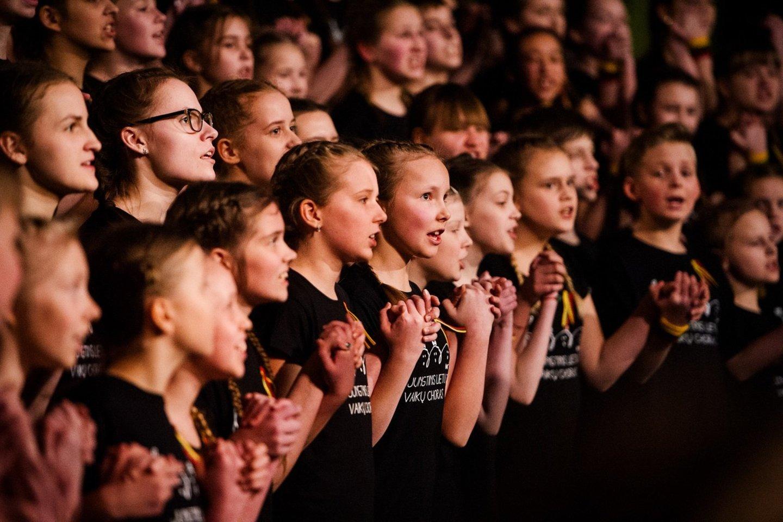 Jungtinis Lietuvos vaikų choras.<br>Organizatorių nuotr.
