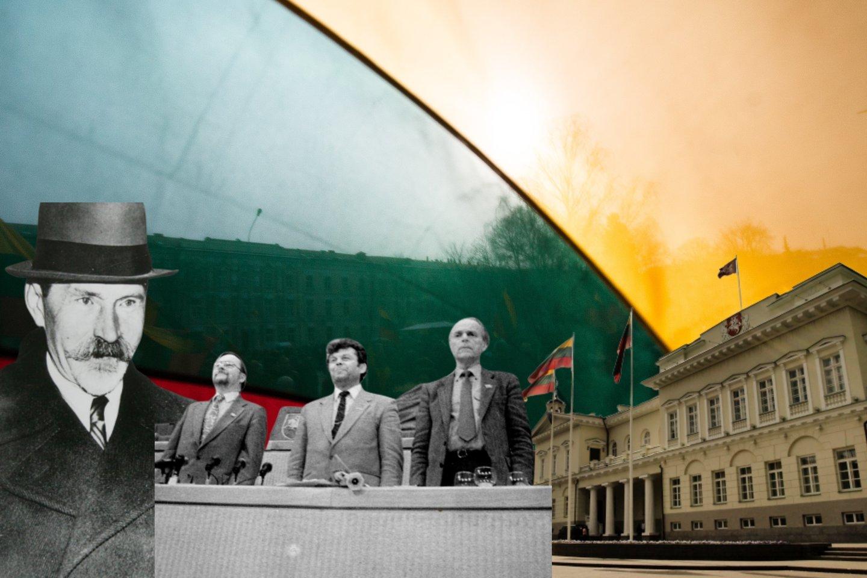 1990 ir 2020: atskleidė, kodėl neišsipildė prieš 30 m. puoselėti politiniai Lietuvos projektai.<br>Lrytas.lt montažas