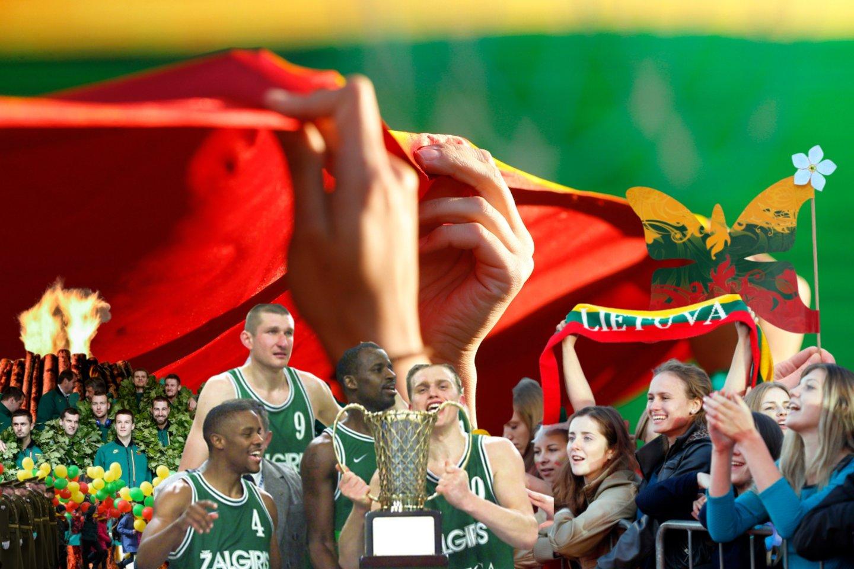 Prieš porą metų švęstas modernios Lietuvos valstybės gimimo šimtmetis sustiprino didelės dalies visuomenės patriotinę dvasią, atgaivino didžiavimosi savo šalimi jausmus.<br>lrytas.lt montažas.