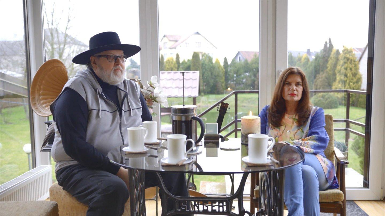 Virgis Stakėnas su žmona Ramute,<br>LNK nuotr.