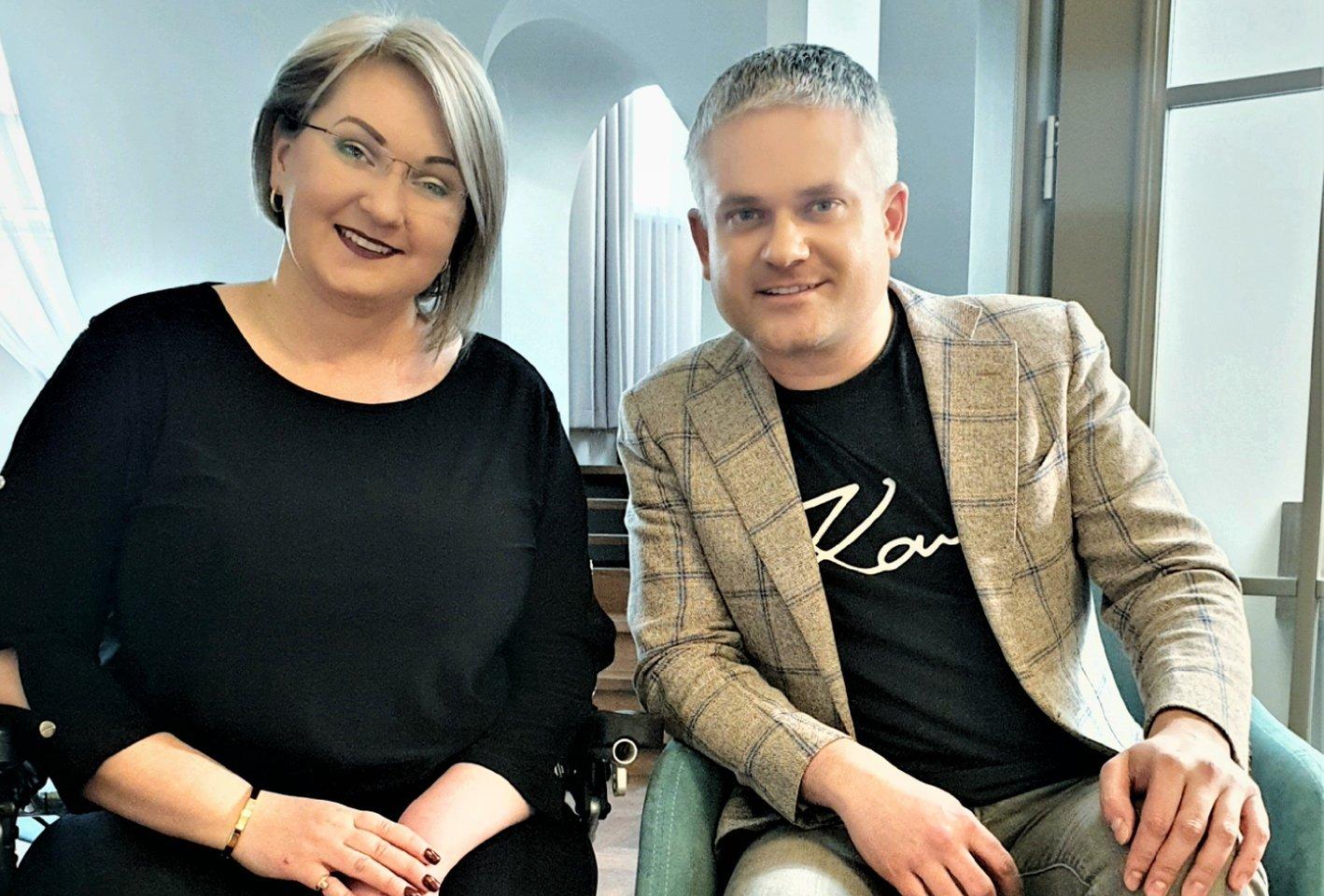 Inga Lizdenytė ir Edvardas Žičkus.<br>Asmeninio albumo nuotr.