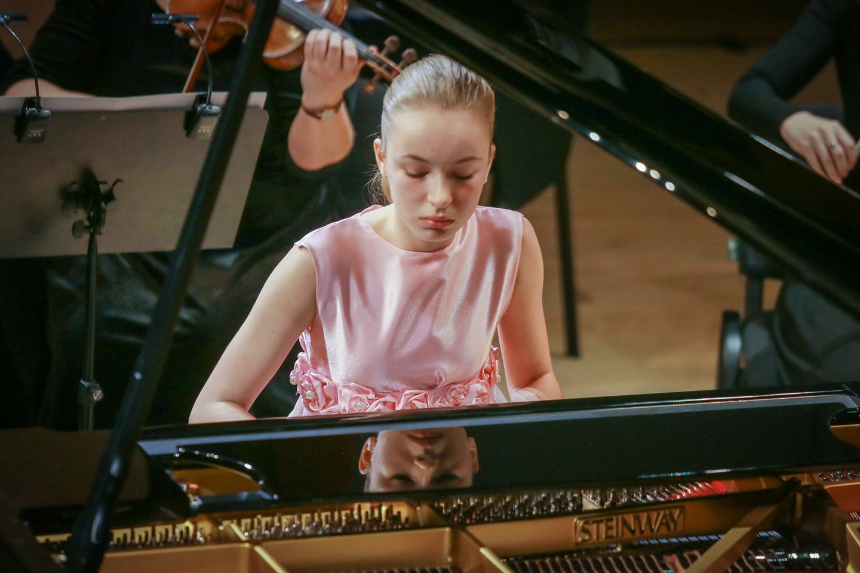 Jaunieji pianistai parodė, ką moka ir gali.<br>V.Petriko nuotr.