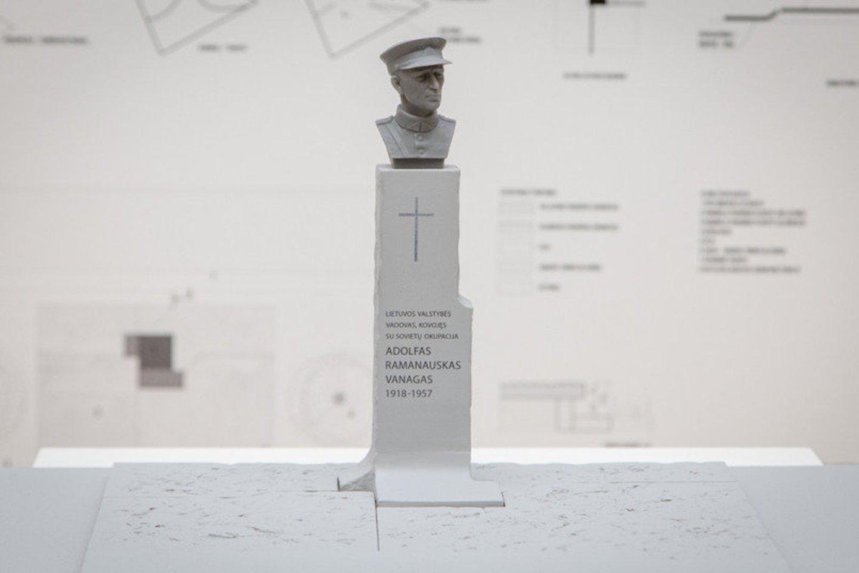 """Laimėjo skulptoriaus Algirdo Kuzmos ir bendrovės """"Arches"""" projektas.<br>Konkurso rengėjų nuotr."""