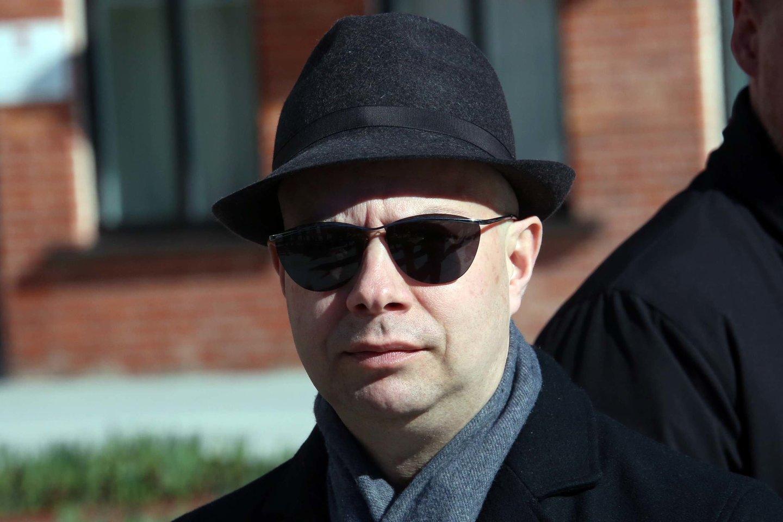 """Dar vasario pabaigoje A. Veryga LRT laidai """"Dienos tema"""" teigė, kad informacijos slėpti neketina.<br>M.Patašiaus nuotr."""