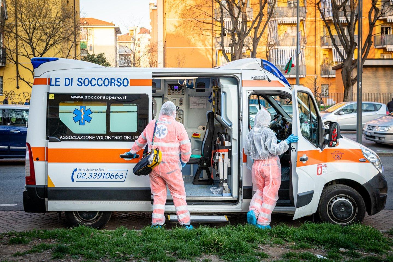 Lietuvoje auga užsikrėtusiųjų koronavirusu skaičius.<br>Scanpix nuotr.