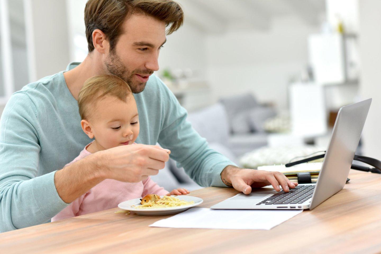 kaip dirbti namuose