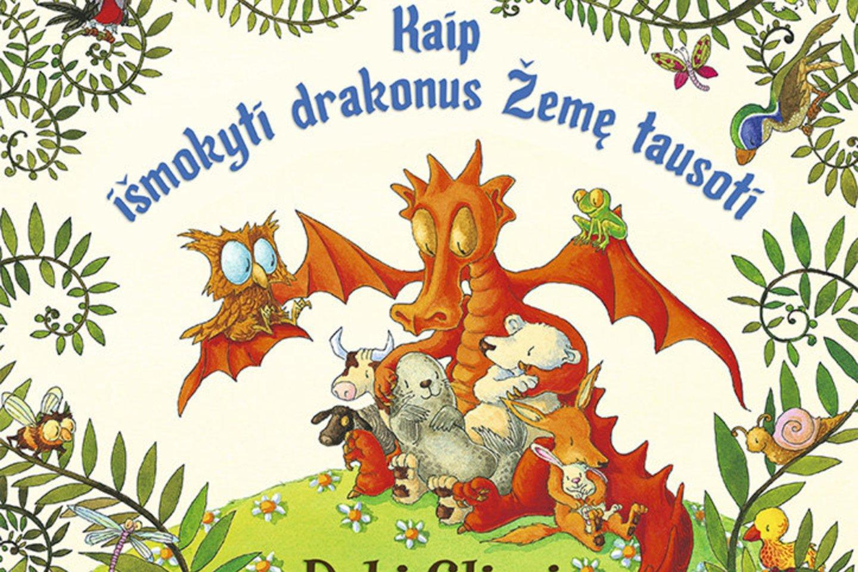 """Knyga vaikams """"Kaip išmokyti drakonus žemę saugoti""""<br>""""Baltos lankos"""""""
