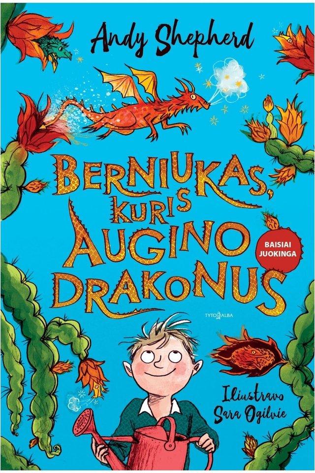 """Knyga vaikams """"Berniukas, kuris augino drakonus""""<br>""""Tyto alba"""""""