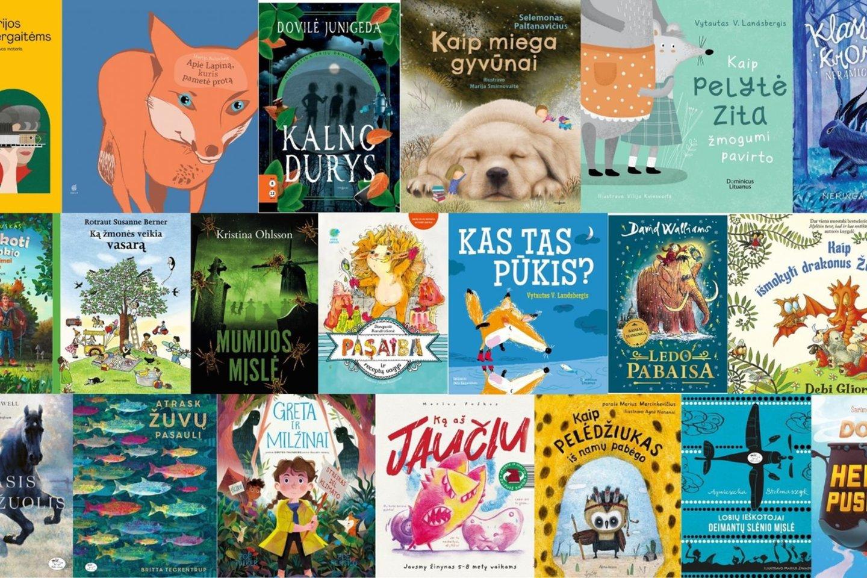 2020 metų pradžioje išleistos vaikiškos knygos