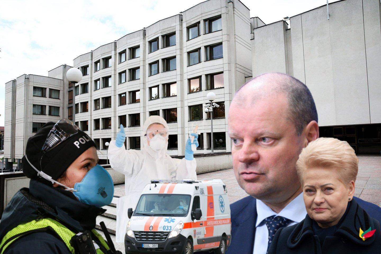 Apie specialų specialių Krizių valdymo centrą anksčiau kalbėjo ir S.Skvernelis, D.Grybauskaitė.