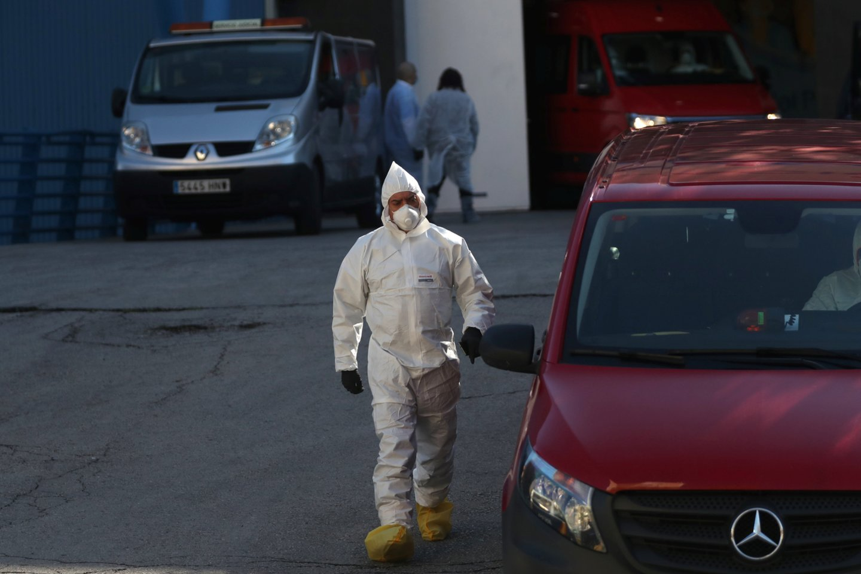 Koronaviruso pandemija neslūgsta ir toliau.<br>Reuters/Scanpix nuotr.
