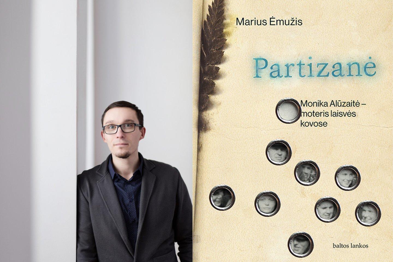 Istorikas M.Ėmužis kruopščiai išstudijavo partizanės M.Alūzaitės gyvenimo istoriją.<br>D.Butėnaitės nuotr.