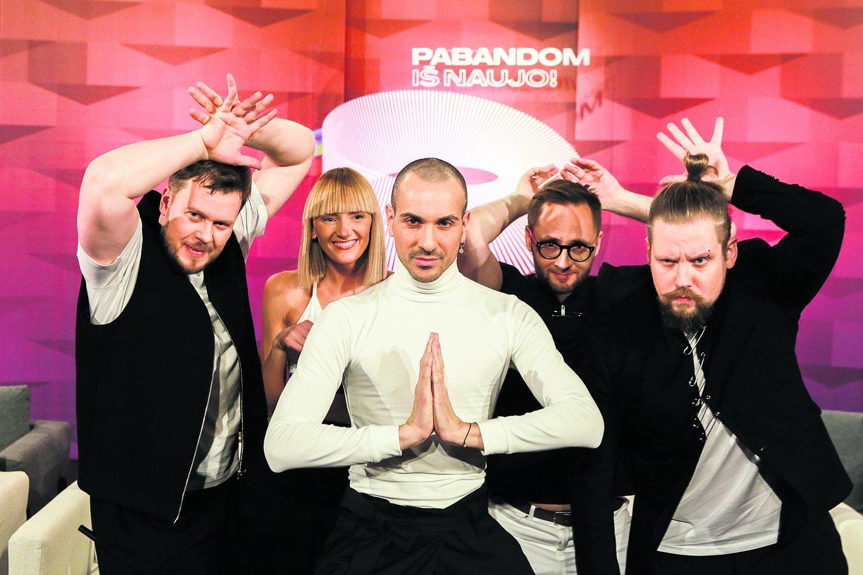 """Grupė """"The Roop"""" pasiryžusi atstovauti Lietuvai ir 2021-ųjų """"Eurovizijoje"""".<br>G.Bitvinsko nuotr."""
