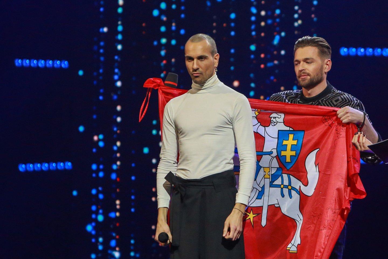 Eurovizija, nacionalinė atranka, The Roop, pergalė, nugalėtojai<br>G.Bitvinsko nuotr.