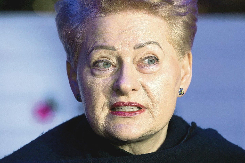 D.Grybauskaitės vadovaujamam fondui sunkiai sekasi pritraukti lėšų.