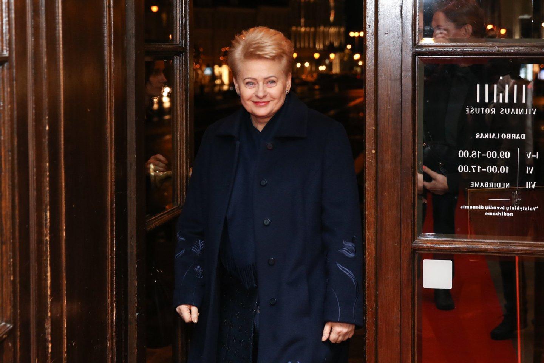 D.Grybauskaitės vadovaujamam fondui sunkiai sekasi pritraukti lėšų.<br>R.Danisevičiaus nuotr.