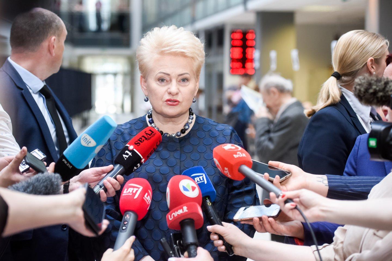 D.Grybauskaitės vadovaujamam fondui sunkiai sekasi pritraukti lėšų.<br>D.Umbraso nuotr.