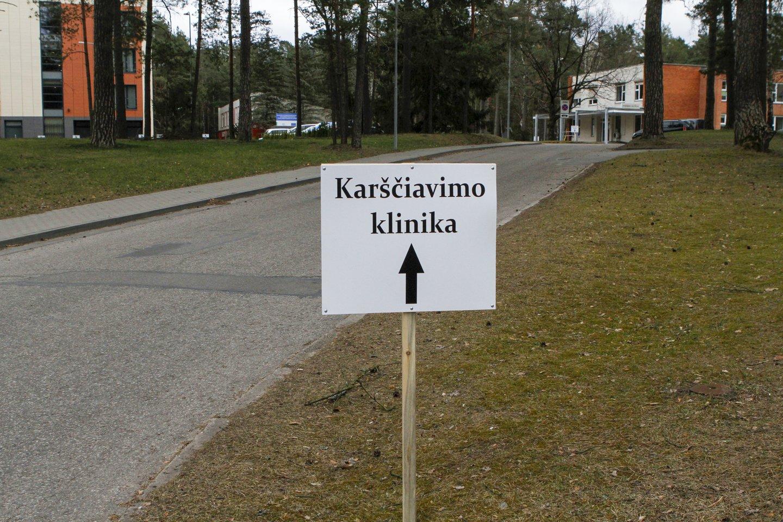 Pirmadienio popietę Lietuvoje buvo žinomi 843 COVID-19 atvejai.<br>V.Ščiavinsko nuotr.