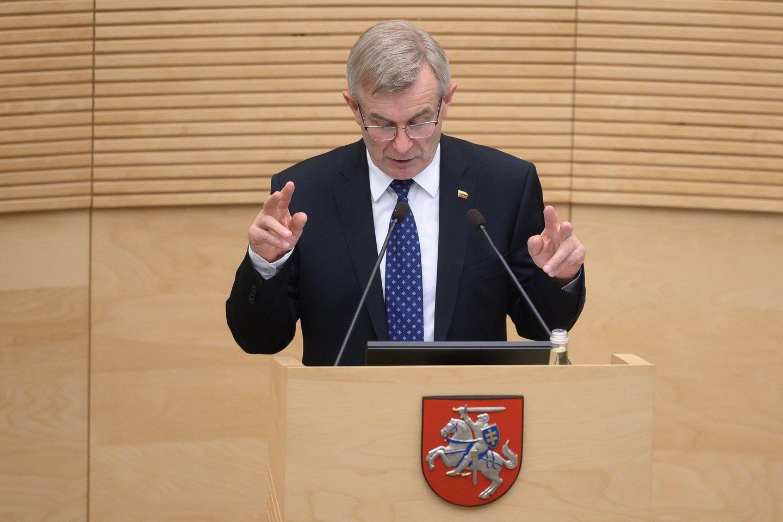 Kodėl V.Pranckietis pasirinko I.Danėlienės kandidatyrą, yra mįslė.<br>V.Skaraičio nuotr.
