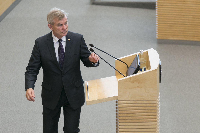 Kodėl V.Pranckietis pasirinko I.Danėlienės kandidatyrą, yra mįslė.<br>T.Bauro nuotr.