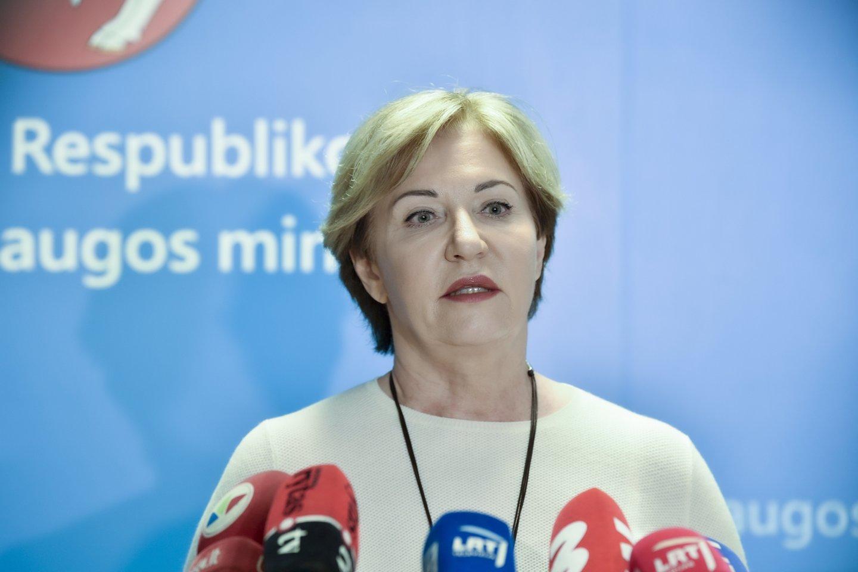 Nacionalinio visuomenės sveikatos centro Vilniaus departamento direktorė Rolanda Lingienė.<br>V.Ščiavinsko nuotr.