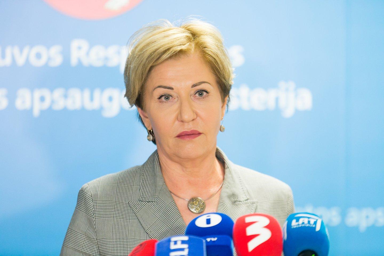 Nacionalinio visuomenės sveikatos centro Vilniaus departamento direktorė Rolanda Lingienė.<br>T.Bauro nuotr.