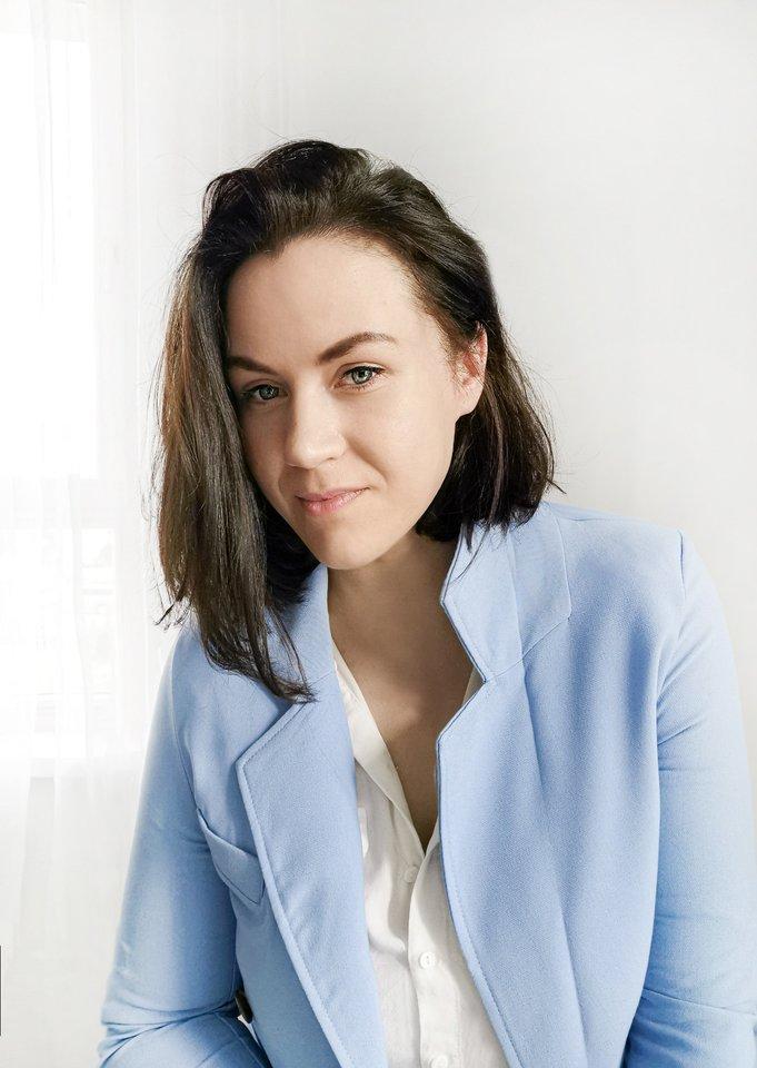 Interjero dizainerė Jovita Bingelytė.<br>J. Bingelytės nuotr.