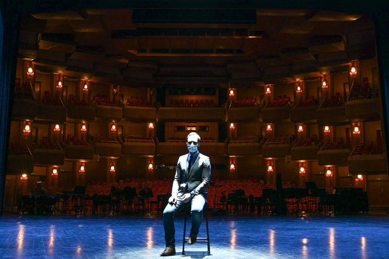 Teatro generalinis direktorius Jonas Sakalauskas.<br>M.Aleksos nuotr.