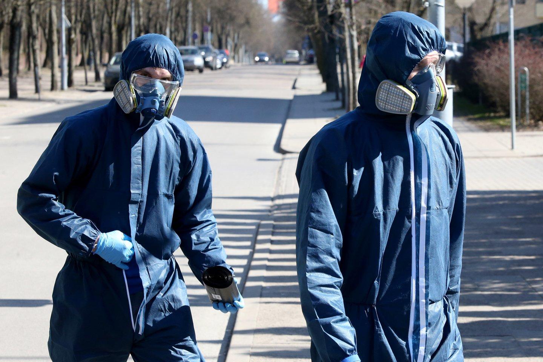 Lietuvoje daugėja užsikrėtusių koronavirusu.<br>R.Danisevičiaus nuotr.