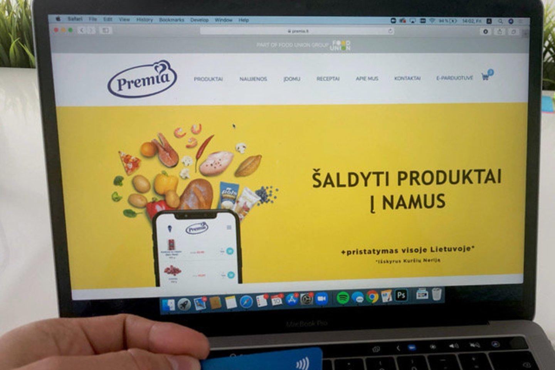 Platų įvairių šaldytų produktų bei valgomųjų ledų asortimentą siūlanti įmonė užsakymus pristato į bet kurį šalies kampelį.<br>Užsakovo nuotr.