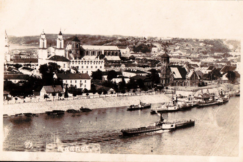 Kauno panorama. XX a. 3-iasis dešimtmetis. S.Sajausko archyvas