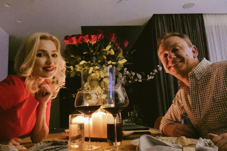 Natalija Martinavičienė mylimąjį Darių pakvietė į pasimatymą.<br>Asmeninio archyvo nuotr.