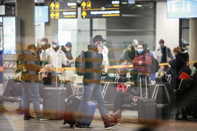Dėl skrydžių atnaujinimo sprendimą priimti turi Vyriausybė.<br>G.Bitvinsko nuotr.