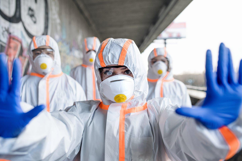 Koronavirusas sparčiai plinta po pasaulį.<br>123rf nuotr.