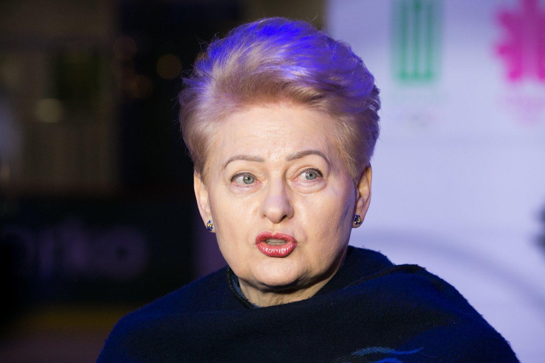 """D.Grybauskaitė garsėjo nepakantumu kritikai, o """"Lietuvos rytas"""" niekada jai nepataikavo ir jos neaukštino.<br>T.Bauro nuotr."""