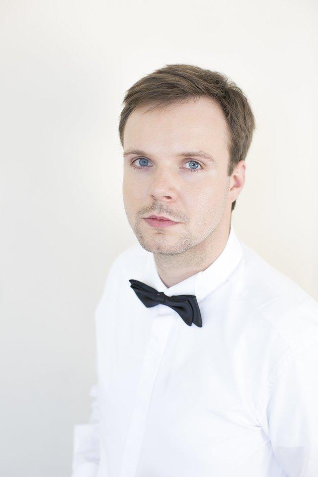 Projektokoordinatorius smuikininkas Algirdas Šochas.<br>Organizatorių nuotr.
