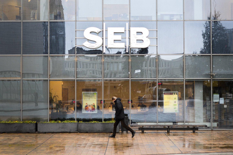 Penktadienio naktį neveiks SEB interneto bankas ir mobilioji programėlė.<br>J.Stacevičiaus nuotr.