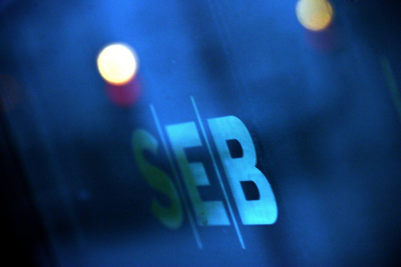 Penktadienio naktį neveiks SEB interneto bankas ir mobilioji programėlė.<br>V.Balkūno nuotr.