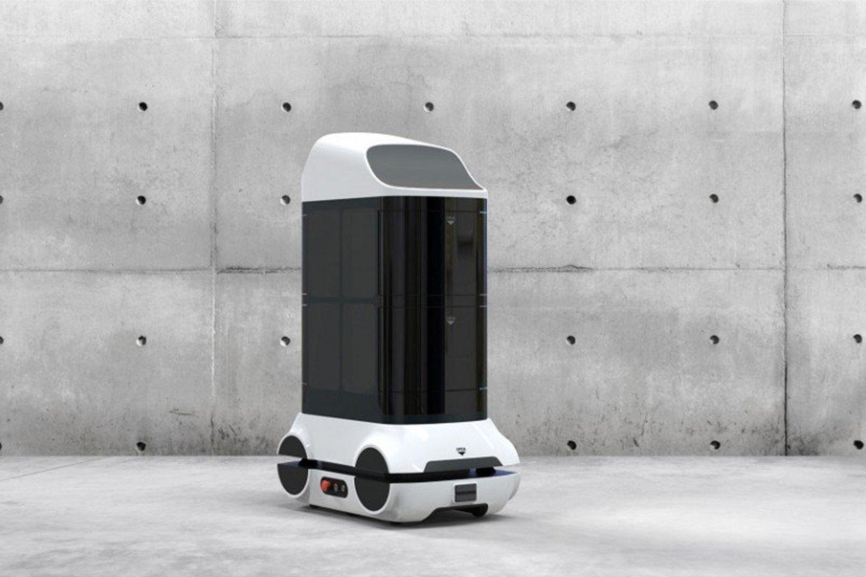 """""""Rubedos"""" kuriamas dezinfekcinis robotas.<br>""""Rubedos"""" nuotr."""