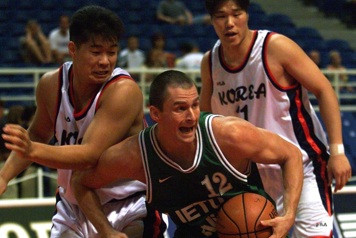 """A.Karnišovas profesionalaus krepšininko karjerą baigė būdamas vos 31-erių.<br>""""Lietuvos ryto"""" archyvo nuotr."""