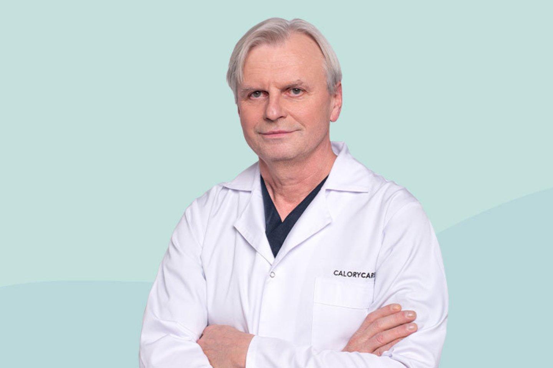 Prof. G.Brimas.<br>Pranešimo autorių nuotr.