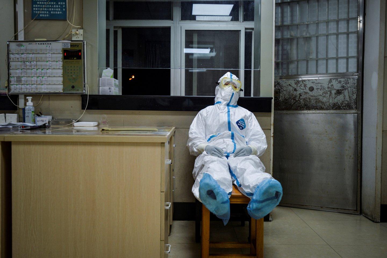Koronavirusas toliau smaugia visą pasaulį.<br>Reuters/Scanpix nuotr.