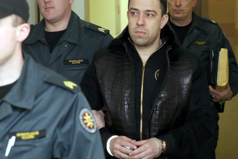 Iš Agurkinių lyderio Sauliaus Velečkos konfiskuota per milijoną eurų.<br>R.Danisevičiaus nuotr.