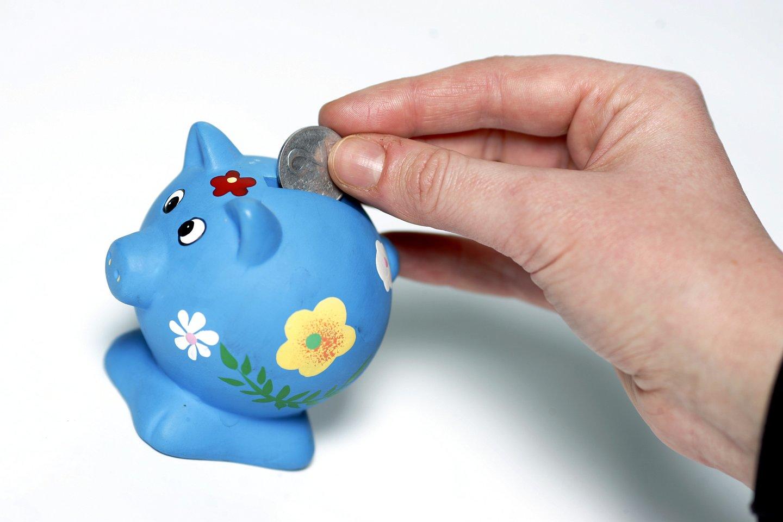 Išmokę vertinti pinigus, sužinoję kiek kas kainuoja, vaikai supras, kam ir kodėl verta taupyti.<br>V.Balkūno nuotr.
